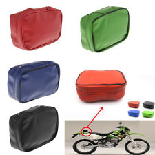 Motorcycle Waterproof Travel Leather Luggage Rear Bag Saddle Tail Bags