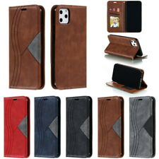 Luxury Leather Case  For iPhone 11 Pro Max XS XR 7 8 Plus Wallet Card Flip Cover