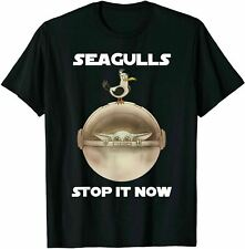 New Seagulls Bird Lover Stop It Now Funny Seagulls T-Shirt Size S-2Xl Usa Size