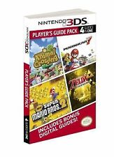 3DS GUIDE PACK: PRIMA OFFICIAL GAME GUIDE: 4in1 Zelda Mario Animal Crossing
