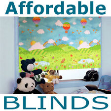 Made To Measure Blinds Childrens Nursery Green Blackout