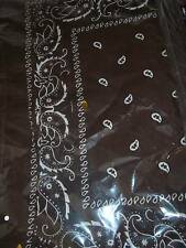 Brown Lot wholesale 1 dozen 12 Bandanas head wrap scarf