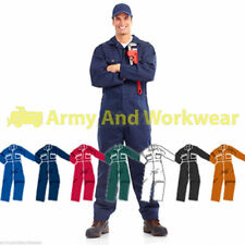 BRITISH Designed Boilersuit Coverall Overalls Tuff Workwear Mens Boiler Suit New