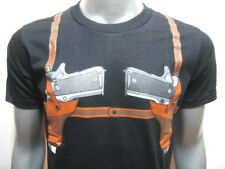 Gun Paintball Holster Belt BB Safety Bad Boy Funny T-SHIRT. No Cabinet Needed!