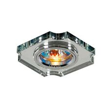 Diyas crystal recessed concave downlights ceiling light
