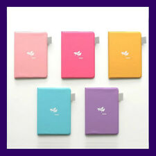 5 Color Cute PVC Passport Cover Holder Case