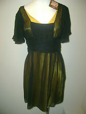 Juicy Couture Black Love Lace Dress NWT $278