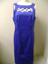 Alfani Concord Grape Sleeveless Dress w/ Rings NWT $99