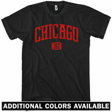 CHICAGO T-shirt - Area Code 312 - Windy City NEW XS-4XL