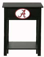 NCAA Nightstand Side Table - 24 Schools Available NEW