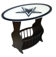 NFL Logo Glass End Table  - 30 Teams Available NEW