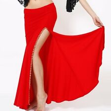 Belly Dance One-side Open Skirt 9 Colours