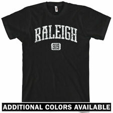 RALEIGH T-shirt - Area Code 919 North Carolina - XS-4XL