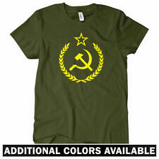 USSR CREST Women's T-shirt - CCCP Soviet Russia Moscow Ladies Tee - S to 2XL