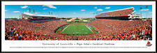 Louisville Cardinals Football Papa Johns Cardinal Stadium Panoramic Photo NEW