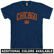 CHICAGO T-shirt - Area Code 773 - Windy City Chi-Town Illinois - NEW XS-4XL