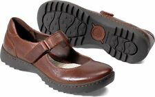Women's Born Mary Jane Shoe Christabel Canoe Brown Leather W82523