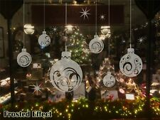 Extra Large Christmas Ball Show Window Shopwindow Wall Art Decoration Sticker