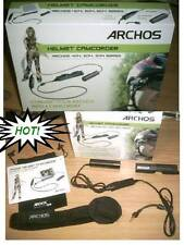 ARCHOS HELMET CAM CAMCORDER HELMET CAMERA BULLET HEAD CAM+LENSES FOR GEN5
