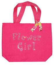 Wedding Party Flower Girl Rhinestone Tote Bag - Personalization Available!