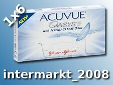 Acuvue OASYS Hydraclear PLUS 1×6  BC 8.4/8.8  Non-Stop-Linsen 2-Wochenlinsen !