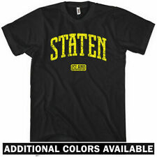 STATEN ISLAND T-shirt - New York City NYC Area Code 718 Wu Tang - NEW XS-4XL