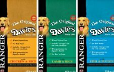 Davies Ranger Complete Hypo-Allergenic Dry Dog Food (Chicken, Lamb or Fish)