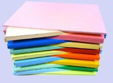 100 SHEET PACK 240gm A4 COLOURED CARD  CHOICE OF COLOURS  A4 240g HIGH QUALITY