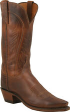 Women's 1883 By Lucchese Western Boots N4604 5/4 Tan Burnished Ranch Leather