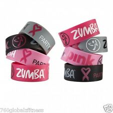 Official Zumba Party in Pink Bracelet-SHIPS VERY FAST! Fight breast cancer!