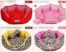 Dog,Cat Warm Round Indoor Soft Pet Bed MICROFIBER Six side Cushion Made in korea