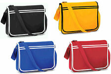 RETRO MESSENGER BAG MEN'S WOMAN'S COLLEGE SCHOOL UNIVERSITY SHOULDER HAND BAG