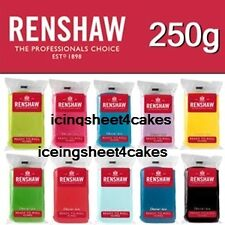 Ready to Roll 250g Sugarpaste by Renshaw Fondant Roll out Icing