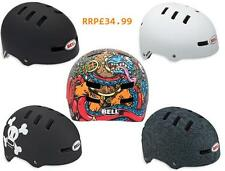 NEW Bell Faction BMX Bike Bicycle Helmet Lid *ALL DESINGS COLOURS SIZES* RRP£35