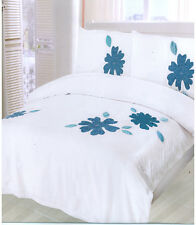Luxury Duvet Bed set with Applique Embroidery Single. Double, King SAN DIEGO
