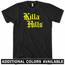 KILLA HILLS T-shirt - Gothic - Staten Island New York NYC 718 Wu Tang NEW XS-4XL