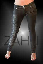 ZAHLI® limited edition JEANS crystallized with SWAROVSKI® CRYSTAL rrp $1299.00
