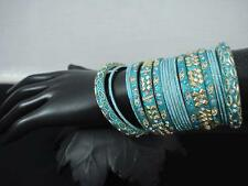 **Stunning Bright Coloured Designer Bangles sets With Stones**