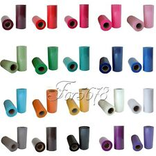 """10 TULLE Roll Spool 6""""x25yd Tutu Wedding Gift Craft Party Bow 6""""x75'Colours Pick"""