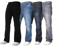 NEW MENS APT A42 BOOTCUT LIGHT-BLUE JEANS. 28  TO 48 BOOT CUT**SPECAIL DEAL**