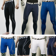 Mens Thermal Compression Under Base Layers Shorts Long Pants Tights Leggings