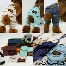 Clearance Dog Pet Clothes PET KINGDOM Suspender Trousers Pants Dog Pet Clothes