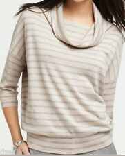 NWT Ann Taylor Striped 3/4 Sleeve Top Sweater Sizes SP,MP & LP