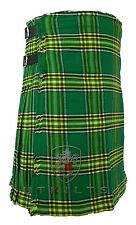 Irish Tartan 16oz  Kilt - FULL 8 yards