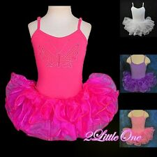 Girl Ballet Tutu Child Dance Costume Fair Dress Leotard Size 2T-7 #011