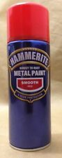 Hammerite Direct to rust metal spray paint smooth 400ml all colours