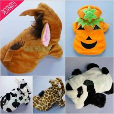 Halloween Collection For Dog Clothes Pet Costumes Coat Hoodies Free Shipping