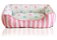 DB200 NEW Summer Teddy Breathable Dog Pet Cat Bed Pet Dog  Kennel Bed Pink Blue