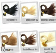 "Brand New One 20""-28"" Human Hair U-Tip In Extensions More Colors 100s 50g-100g"
