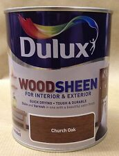 Dulux All in one Stains & varnishes interior & exterior woodsheen 750ml  colours
